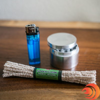 Atomic Blaze Tip: Don't forget that Smokin Clean Pipe Cleaners are a must-have if you prefer glass smoke pipes to keep your piece clean.