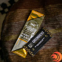 The Twisted Hemp Mango flavored wrap is part of the Deluxe Rolling Essentials bundle from  Atomic Blaze smokeshop online.