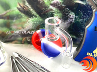 A thick standard 14mm quartz banger nail is a dab kit bundle with toruchmust. It easily slides out for a proper cleaning.