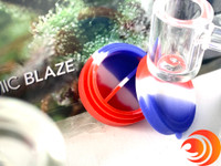 The proudct for premium dab rigs can get quite hot so a silicone storage container is ideal, which is included in this dab kit bundle with torch at atomicblaze.com/