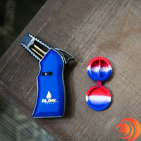 Lowest prices on A Blink EDGE Torch Lighter with free shipping or included with a silicone container dabbing bundle with torch from our online head shop.