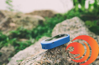 The blue click vaporizer is durable, has short circuit protection and charges fast for quick hits.