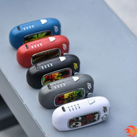 The U-Key Special Edition vape case designs vary from a Rasta Man to Skull and Roses, only at Atomic Blaze Smoke Shop!