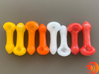 Get a colorful glass pipe for smoking on the AtomicBlaze online smoke shop.