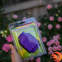The purple Smoke Buddy Jr. at our online smoke shop comes in plastic & is great for on the go folks.