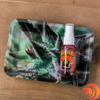 This blunt blast air freshener is travel-friendly at one ounce so you can keep your hotel room air clean.