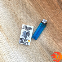 Order a pack of magic stick rolling papers with a joker skull print from the best online head shop.