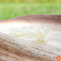 From its cool glass knobs, to its cavernous chamber, this pipe is like a conveyor belt that transfers the good times directly to your lungs!