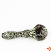 """Atomic Blazes' 4"""" glass pipe doesn't just elevate your smoke session with it's style...this thing hits like a champion!"""