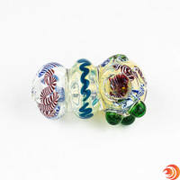 It's a nice medium size glass pipe, so you won't burn up all your product before the weekend!