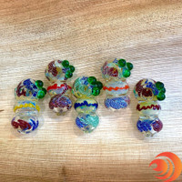 This heavy glass pipe is the bomb! It's whirling, swirling patterns will have you hypnotized after just one hit.