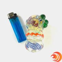 """Affordable 3"""" glass pipes for smoking from Atomic Blaze Online Smoke Shop."""
