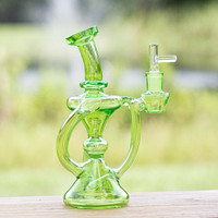Sale on a 7 Glass Bong with 10mm Bowl from AtomicBlaze Headshop and we always have the cheapest glass pipes and bongs and free shipping promos