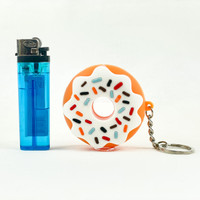 Sale on a Silicone Donut One Hitter from AtomicBlaze Headshop and we always have the cheapest glass pipes and bongs and free shipping promos