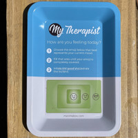 Give a gift of My Therapist Rolling tray from Atomic Blaze Online Smoke Shop to roll your flower.