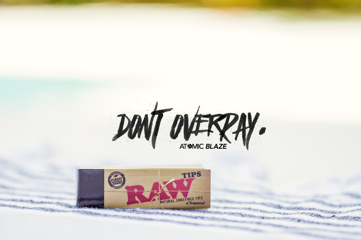 Atomic Blaze Smoke Shop Online has the best selection of RAW rolling papers