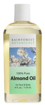 Rainforest Botanicals® Almond Oil 4 oz.