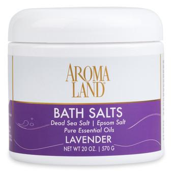 Aromatherapy+ Bath Salts - Lavender 20 oz.
