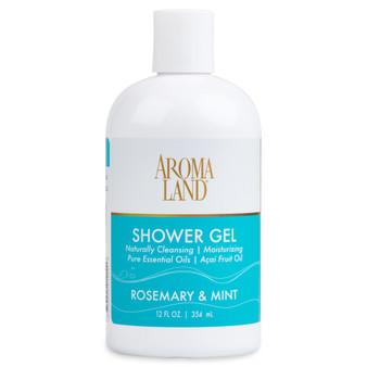 Aromatherapy+ Bath & Shower Gel - Rosemary & Mint