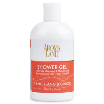 Aromatherapy+ Bath & Shower Gel - Ylang Ylang & Ginger