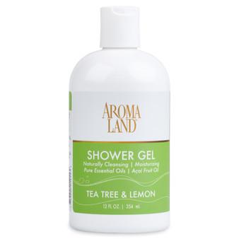Aromatherapy+ Bath & Shower Gel - Tea Tree & Lemon