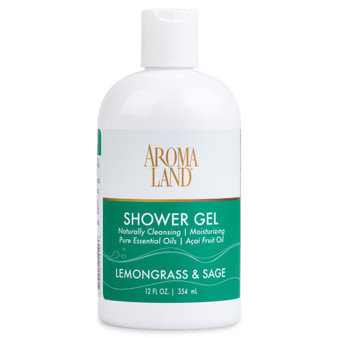 Aromatherapy+ Bath & Shower Gel - Lemongrass & Sage