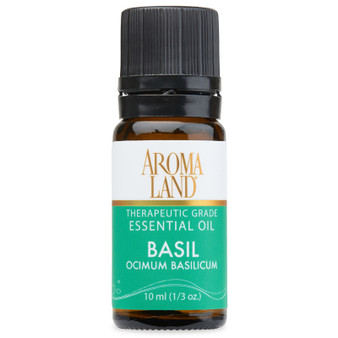 Aromaland - Basil Sweet Essential Oil 10ml. (1/3oz.)