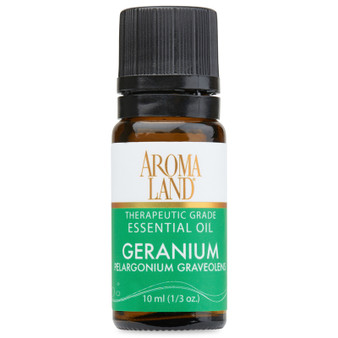 Aromaland - Geranium Essential Oil 10ml. (1/3oz.)