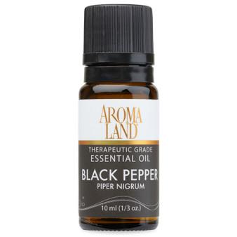 Aromaland - Black Pepper Essential Oil 10ml. (1/3oz.)