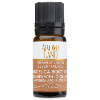 Aromaland - Angelica Root 10% Essential Oil 10ml. (1/3oz.)
