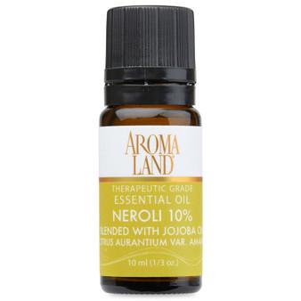 Aromaland - Neroli 10% Essential Oil 10ml. (1/3oz.)