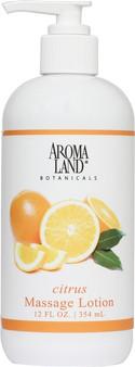 Massage Lotion Citrus 12 oz.