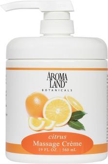 Massage Creme Citrus 19 oz.