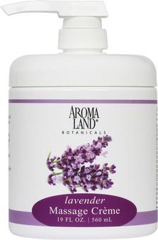 Massage Creme Lavender 19 oz.