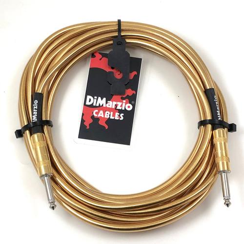 DiMarzio Metallic Finish Braided Guitar Cable