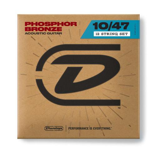 Jim Dunlop 12-String Acoustic Phosphor Bronze Strings