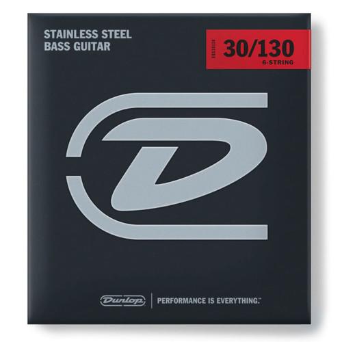 Jim Dunlop 6-String Bass Stainless Steel Set