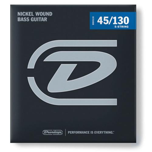 Jim Dunlop 5-String Electric Bass Nickel Strings