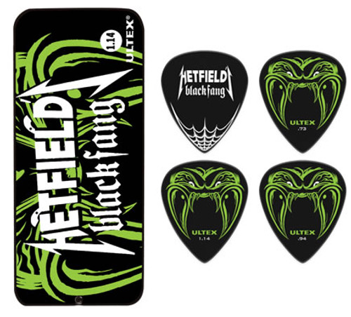 Jim Dunlop James Hetfield Black Fang Tin