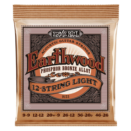 Ernie Ball 12-String Slinky Phosphor Bronze Acoustic Strings