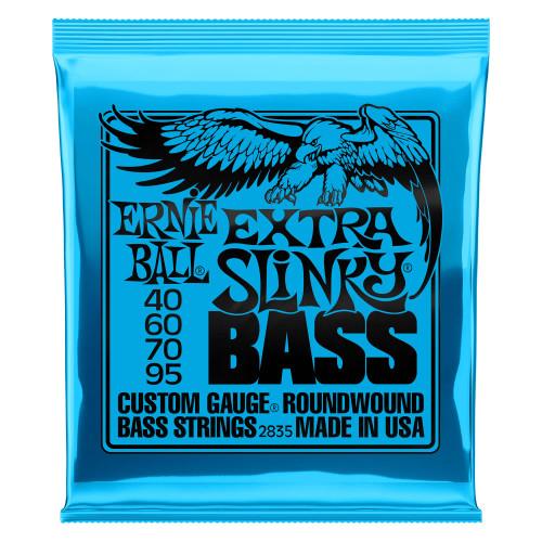 Ernie Ball Slinky Roundwound 4-String Bass Strings