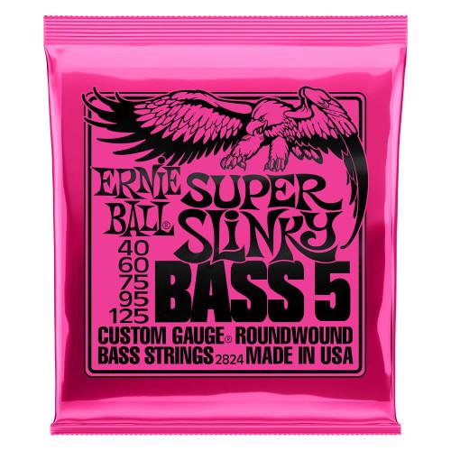 Ernie Ball 5-String Slinky Roundwound Bass Strings