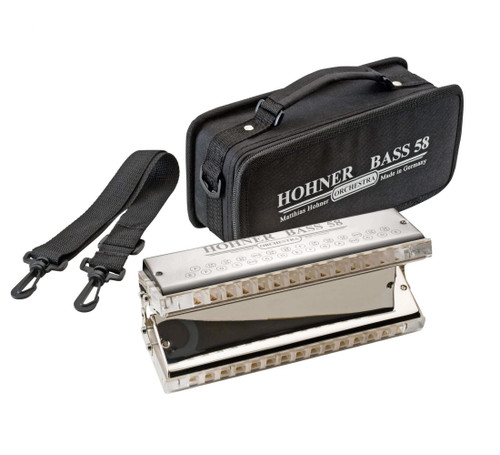 Hohner Bass 58 Orchestral Bass Harmonica