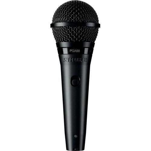 Shure PGA58 Dynamic Vocal Microphone with XLR-XLR Cable