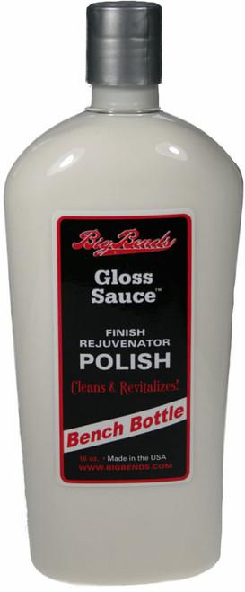 Big Bends 16 oz. Gloss Sauce - Bench Bottle