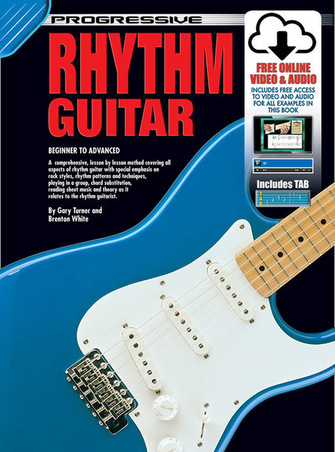 Progressive Rhythm Guitar Book with Online Video & Audio