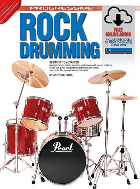 Progressive Rock Drumming Book with Online Audio & Video