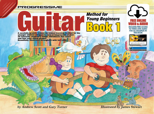 Progressive Guitar Method Book 1 for Young Beginners Book