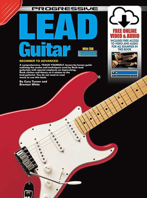 Progressive Lead Guitar Book with Online Video & Audio