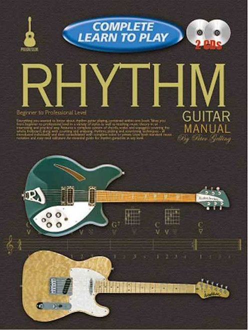 Progressive Complete Learn to Play Rhythm Guitar - Book & 2 CDs
